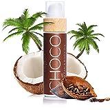 COCOSOLIS Choco - Acelerador de Bronceado con Vitamina E, Loción Bio Oil para un bronceado natural...