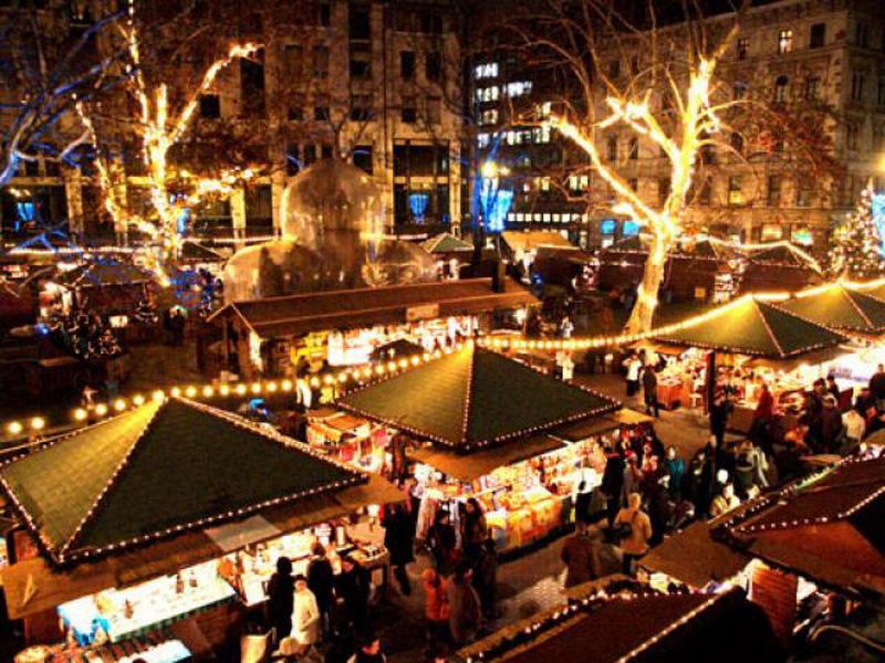 Mercadillos europeos de Navidad