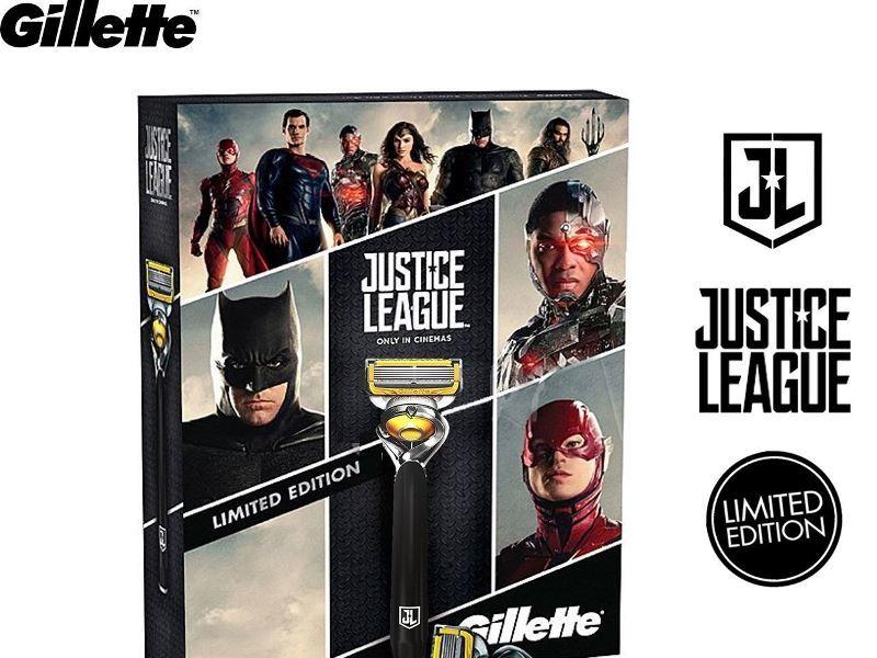Gillette Liga de la Justicia